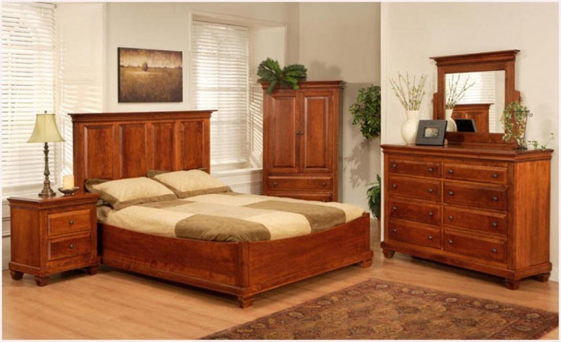 florentino mennonite cherry bedroom suite - lloyd's mennonite