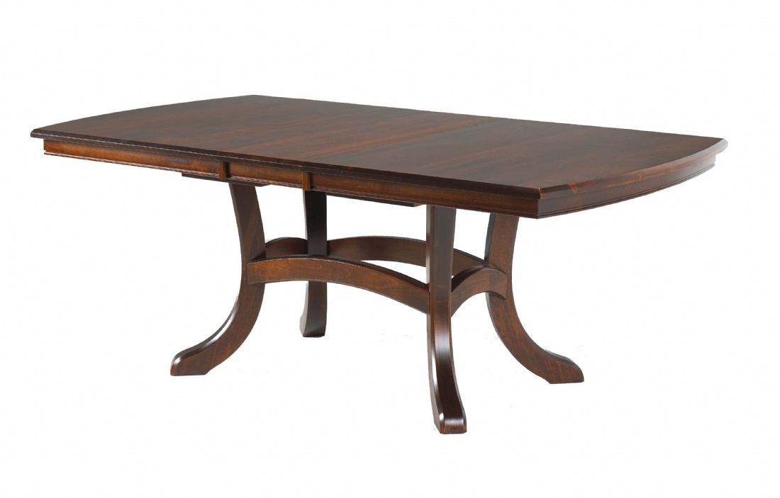 Jordan Double Pedestal Table Lloyd 39 S Mennonite Furniture Gallery Solid Wood Mennonite