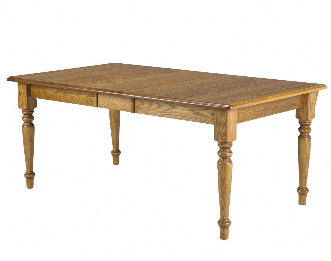 Reesor Harvest Table Lloyd s Mennonite Furniture Gallery
