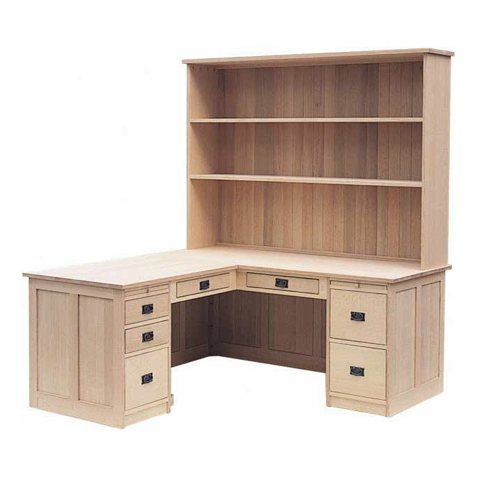 Mission Style Desk With Hutch Uhuru Furniture