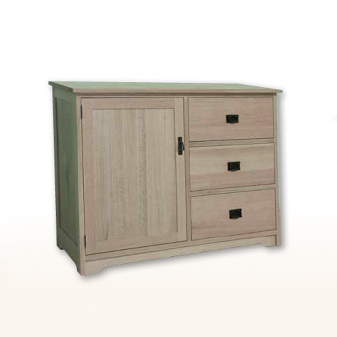 Mission Credenza With Drawers Lloyd 39 S Mennonite Furniture Gallery Solid Wood Mennonite