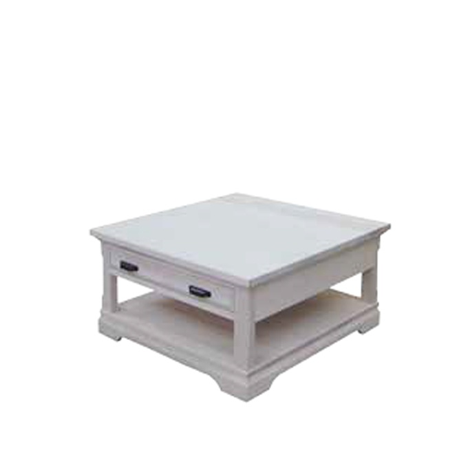 Map Drawer Coffee Table: Chateau 1 Drawer Coffee Table