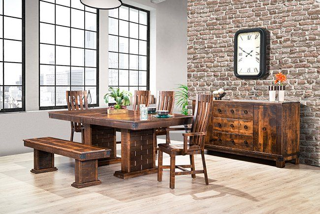Barrelworks Table Chairs And Bench
