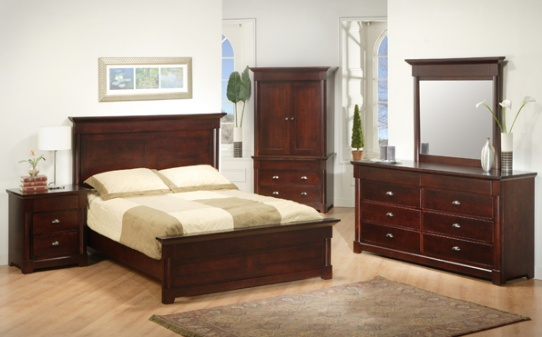 Hudson Valley Mennonite Bedroom Suite Mennonite Furniture Ontario at Lloyd's Furniture Gallery in Schomberg