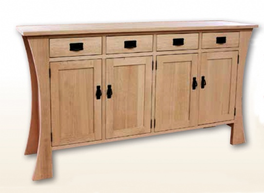 Mission Sideboard Mennonite Furniture Ontario at Lloyd's Furniture Gallery in Schomberg