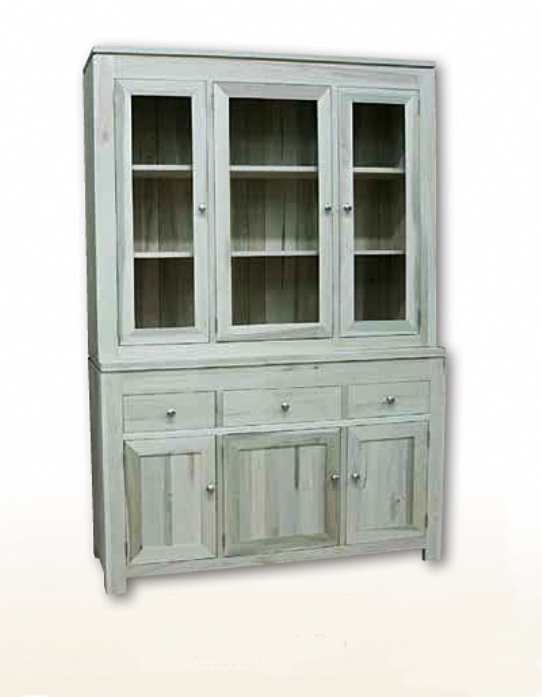 Newport 3 Door 3 Drawer Hutch & Buffet Mennonite Furniture Ontario at Lloyd's Furniture Gallery in Schomberg