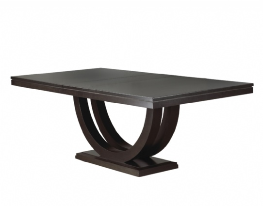 Metro Double Pedestal Table Mennonite Furniture Ontario at Lloyd's Furniture Gallery in Schomberg