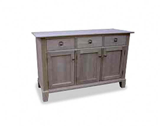 New Yorker 3 Door Buffet Only Mennonite Furniture Ontario at Lloyd's Furniture Gallery in Schomberg