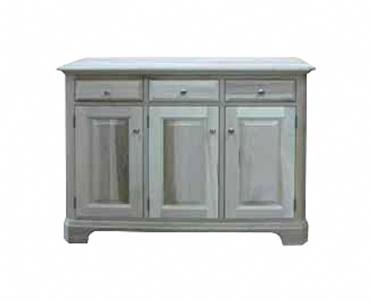 Durham 3 Drawer 3 Door Server Mennonite Furniture Ontario at Lloyd's Furniture Gallery in Schomberg