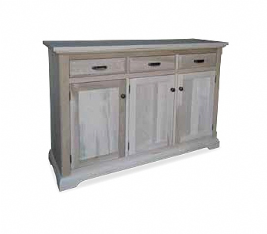 Chateau 3 Door 3 Drawer Server Mennonite Furniture Ontario at Lloyd's Furniture Gallery in Schomberg