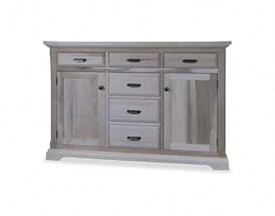 Chateau 2 Door 2 Drawer Server Mennonite Furniture Ontario at Lloyd's Furniture Gallery in Schomberg