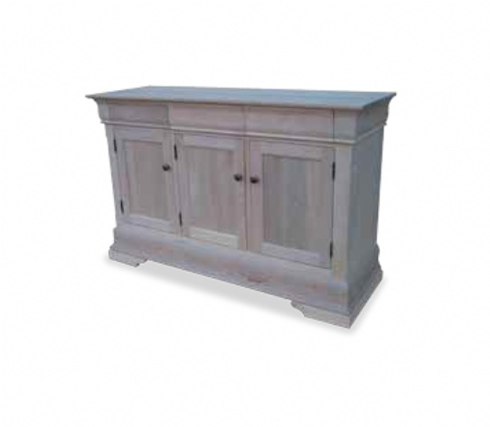 Phillipe 3 Door 3 Drawer Buffet Only Mennonite Furniture Ontario at Lloyd's Furniture Gallery in Schomberg