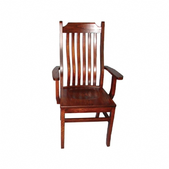 Dickson Mission Arm Chair Mennonite Furniture Ontario at Lloyd's Furniture Gallery in Schomberg