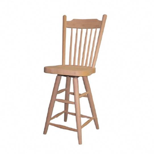 Farmhouse Deep Seat Bar Stool Mennonite Furniture Ontario at Lloyd's Furniture Gallery in Schomberg