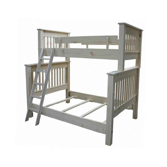 Single Over Double Bunks Mennonite Furniture Ontario at Lloyd's Furniture Gallery in Schomberg