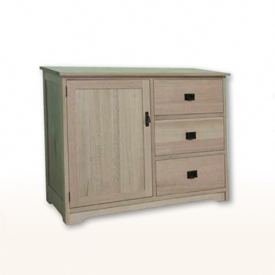 Mission Credenza with Drawers Mennonite Furniture Ontario at Lloyd's Furniture Gallery in Schomberg