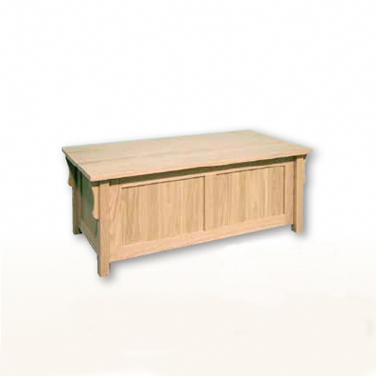 Mission Blanket Box Mennonite Furniture Ontario at Lloyd's Furniture Gallery in Schomberg