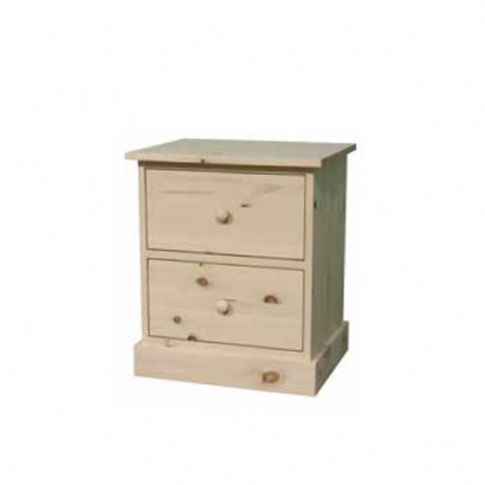 Cottage 2 Drawer Night Stand Mennonite Furniture Ontario at Lloyd's Furniture Gallery in Schomberg