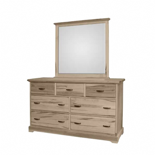 Cottage Deluxe 7 Drawer Dresser Mennonite Furniture Ontario at Lloyd's Furniture Gallery in Schomberg