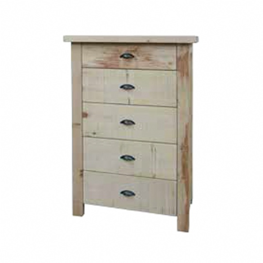 Frontier 5 Drawer Hiboy Mennonite Furniture Ontario at Lloyd's Furniture Gallery in Schomberg