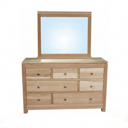 Metro 7 Drawer Dresser Mennonite Furniture Ontario at Lloyd's Furniture Gallery in Schomberg