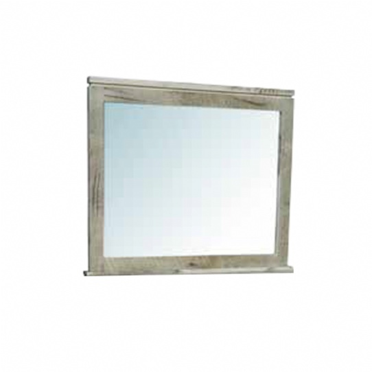 Metro Rough Cut Mirror Mennonite Furniture Ontario at Lloyd's Furniture Gallery in Schomberg