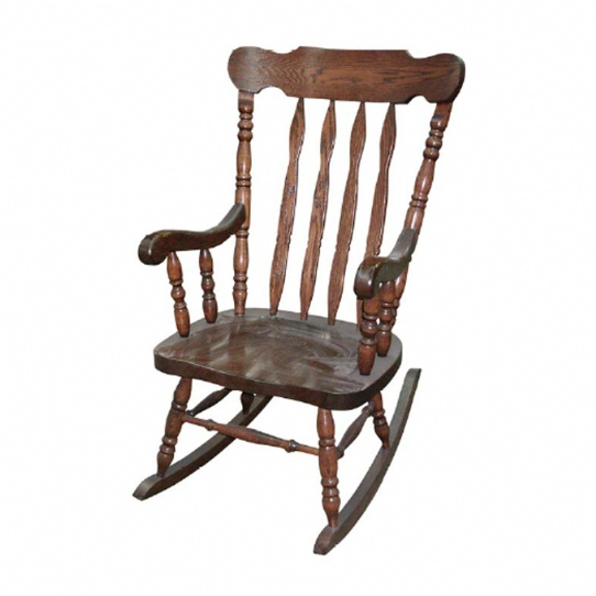 Grandpa Rocker Mennonite Furniture Ontario at Lloyd's Furniture Gallery in Schomberg
