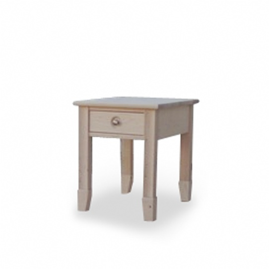 New Yorker End Table Mennonite Furniture Ontario at Lloyd's Furniture Gallery in Schomberg