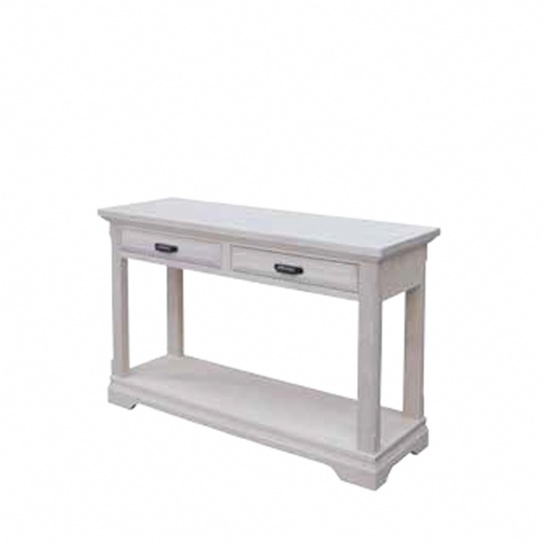 Chateau 2 Drawer Sofa Table Mennonite Furniture Ontario at Lloyd's Furniture Gallery in Schomberg