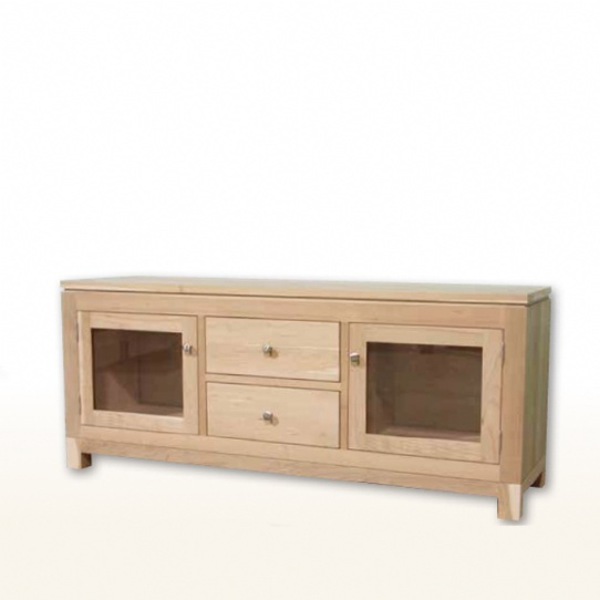 Metro 2 Drawer 2 Door TV Unit Mennonite Furniture Ontario at Lloyd's Furniture Gallery in Schomberg