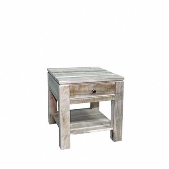 Rough Cut Metro End Table Mennonite Furniture Ontario at Lloyd's Furniture Gallery in Schomberg