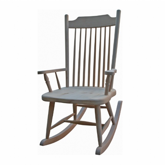 Farm House Deep Seat Rocker Mennonite Furniture Ontario at Lloyd's Furniture Gallery in Schomberg