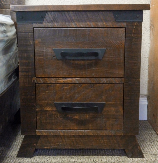Hamilton 2 Drawer Night Stand Mennonite Furniture Ontario at Lloyd's Furniture Gallery in Schomberg