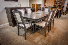 Maple Metro Table with Contempo Chairs -